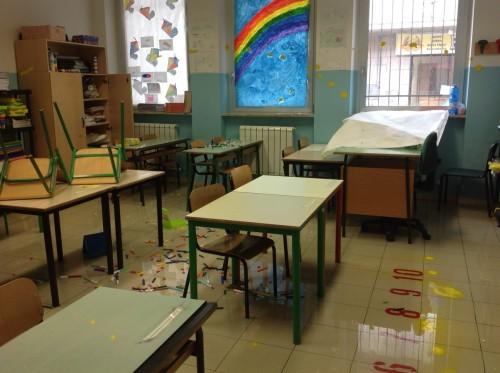 Ancora vandali nella scuola Fanny De Blasio a Montesilvano