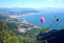 Veduta di Salerno da Cava dei Tirreni