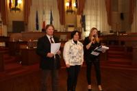 In questa galleria alcuni scatti dell'edizione organizzata nella prestigiosa sede della sala consiliare del Comune di Pescara, in Abruzzo.